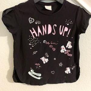 Zara girls collection t shirt size 7